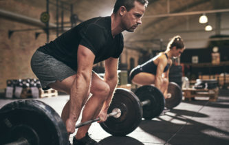 the correct form for a deadlift