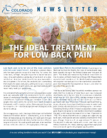 The Ideal Treatment For Low Back Pain